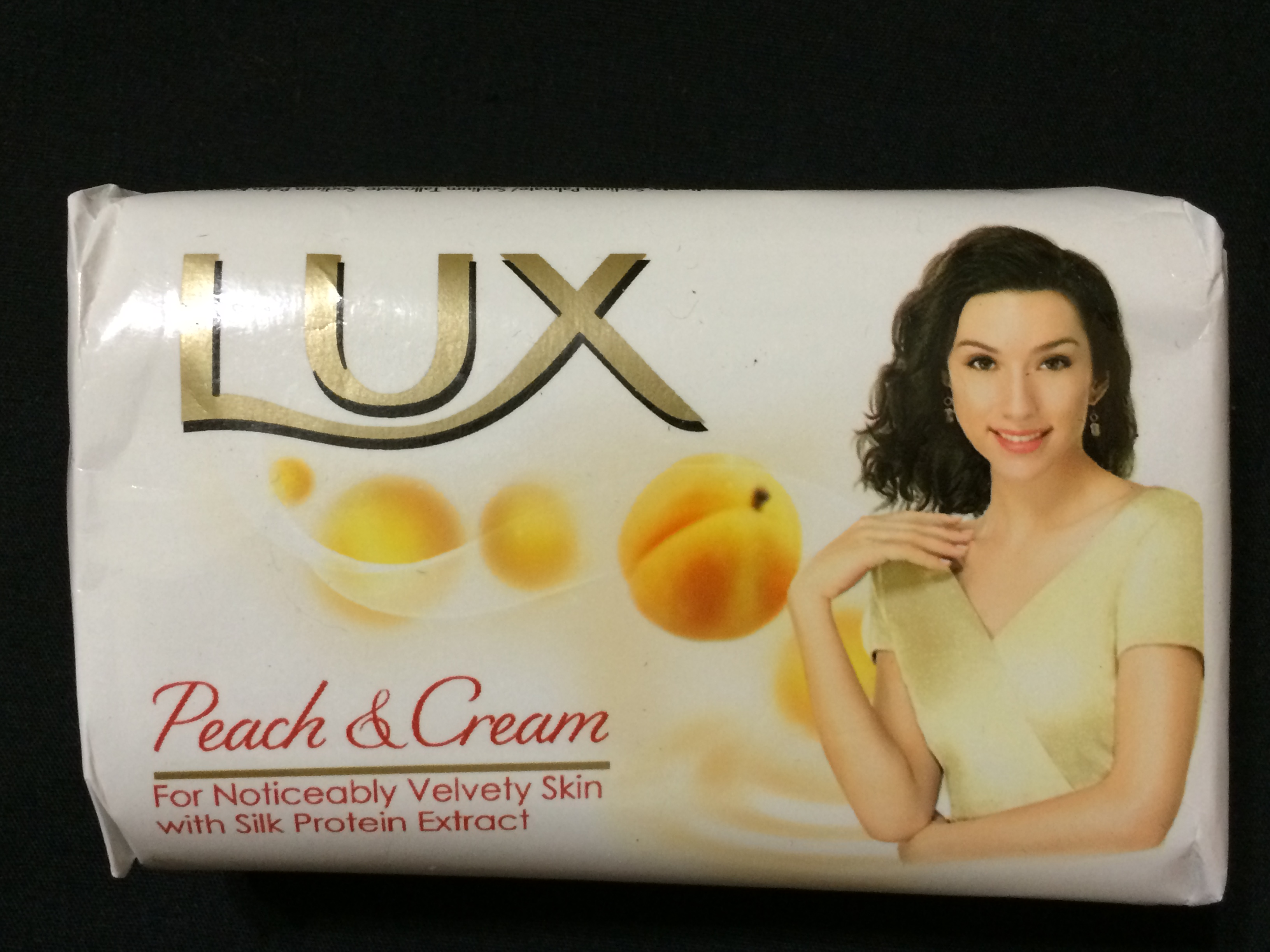 Lux International Soap Peach Amp Cream 115 Grams Desi